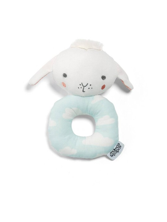 Soft Lamb Grabber Activity Toy and Rattle image number 1