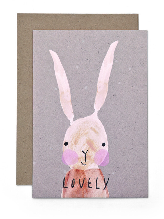 Lovely Bunny - Card image number 1