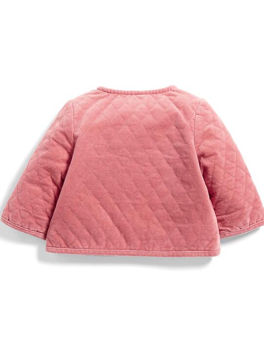 Velvet Quilted Jacket image number 2