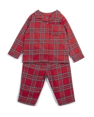 Unisex Woven Check Pyjamas
