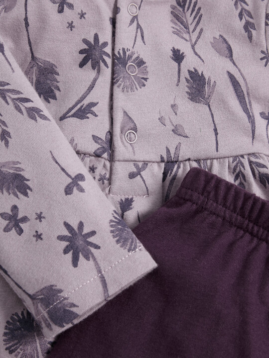 Floral Tunic & Leggings Set image number 3