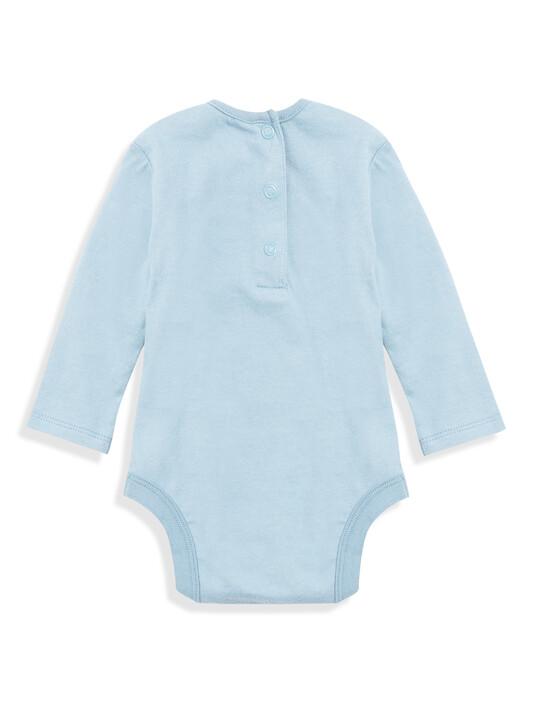 Embroidered Bodysuit Set image number 3