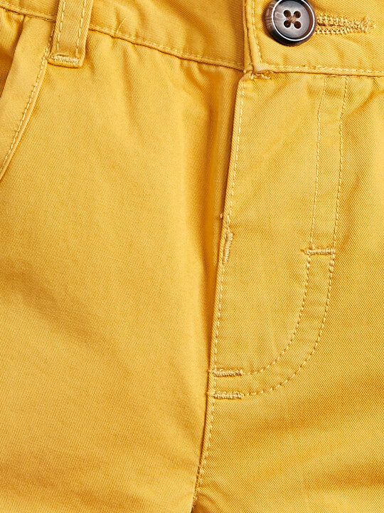 Chino Shorts - Mustard image number 3