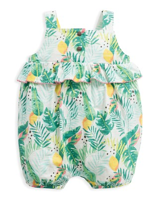 Tropical Shortie Romper