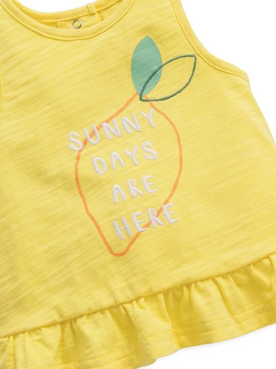 Frill Vest Lemon image number 3