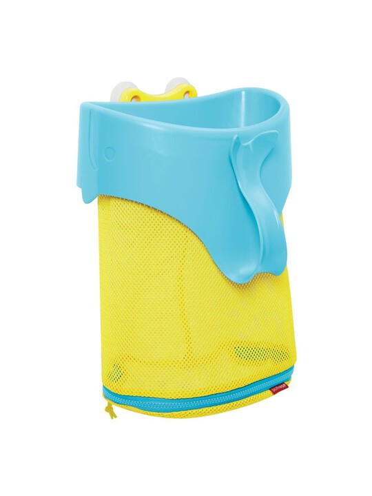 Moby Scoop & Splash Bath Toy Organizer image number 1