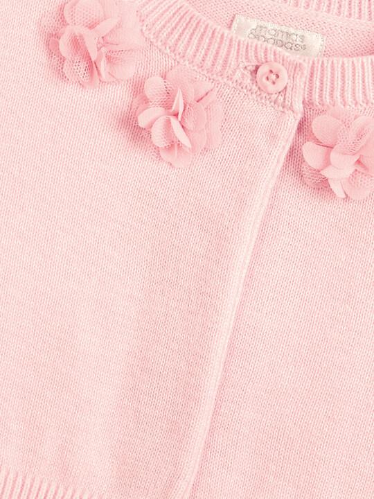 Floral Cardigan - Pink image number 3
