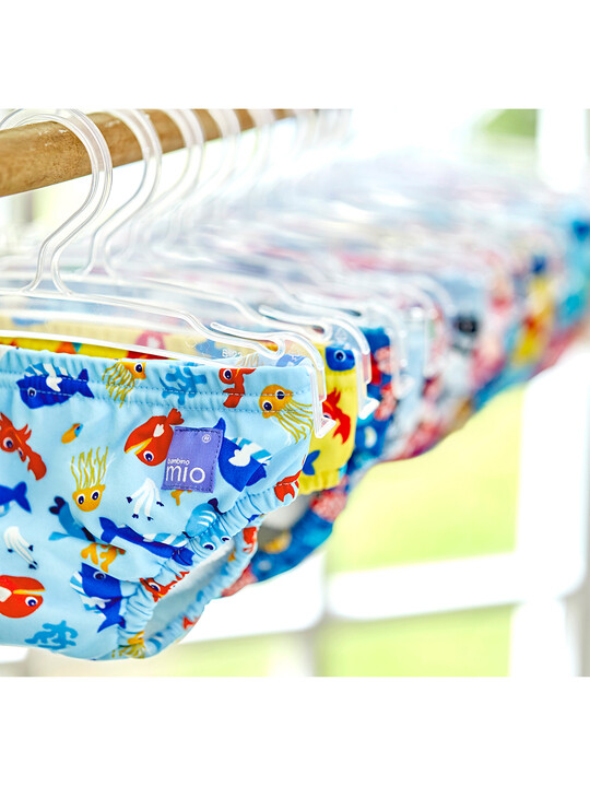 Bambino Mio Reusable Swim Nappy - Deep Sea Blue (2+ years) image number 6