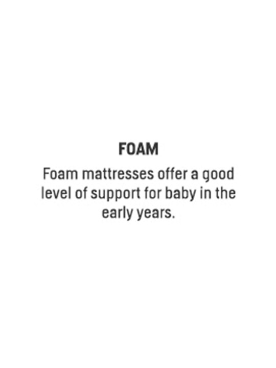 Essential Foam Travel Cot Mattress image number 2
