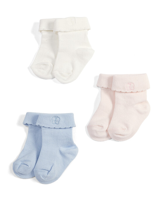 Butterfly Socks (3 Pack) image number 1