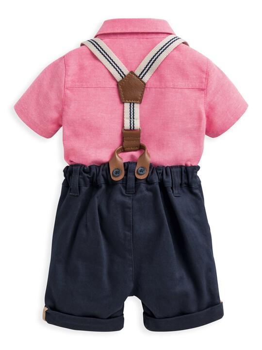 3 Piece Shirt, Shorts & Braces Set image number 2