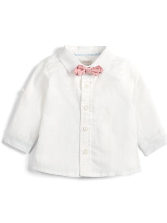 Seersucker Waistcoat, Shirt and Bowtie - 3 Piece Set image number 3