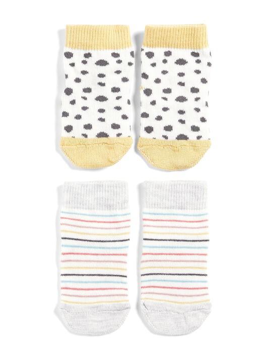 Spot & Stripe Socks (2 Pairs) image number 1