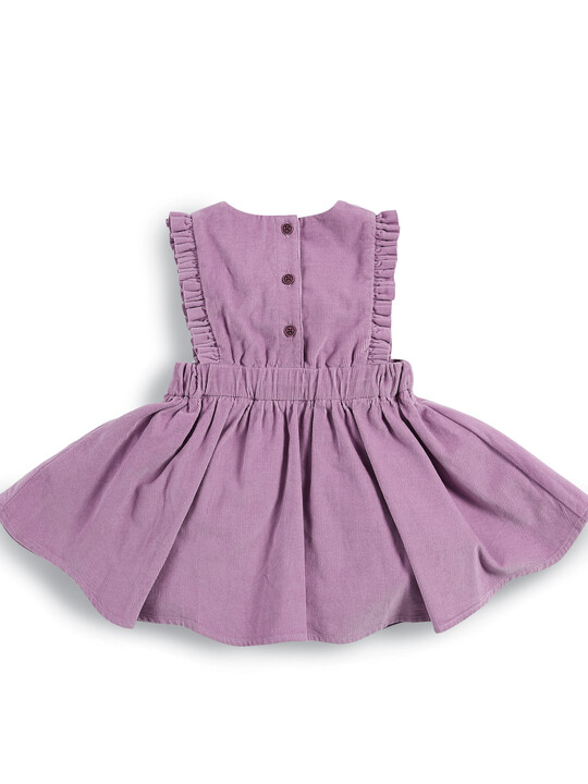 Embroidered Cord Dress image number 2