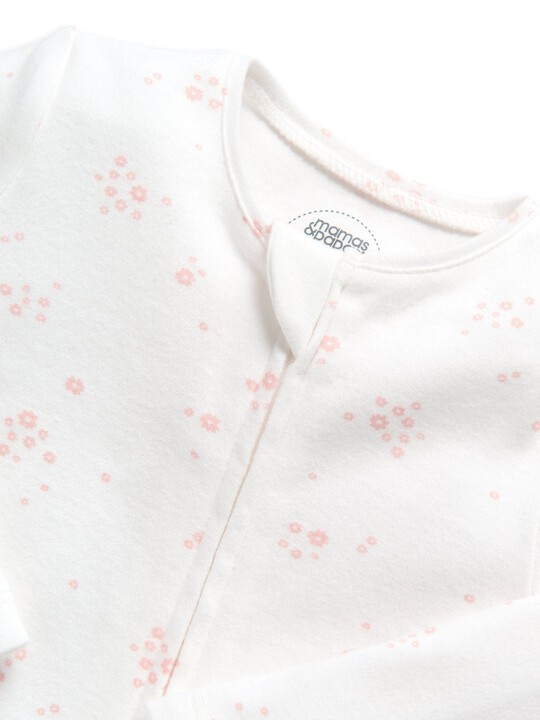 Floral Printed Zip All-in-one image number 3