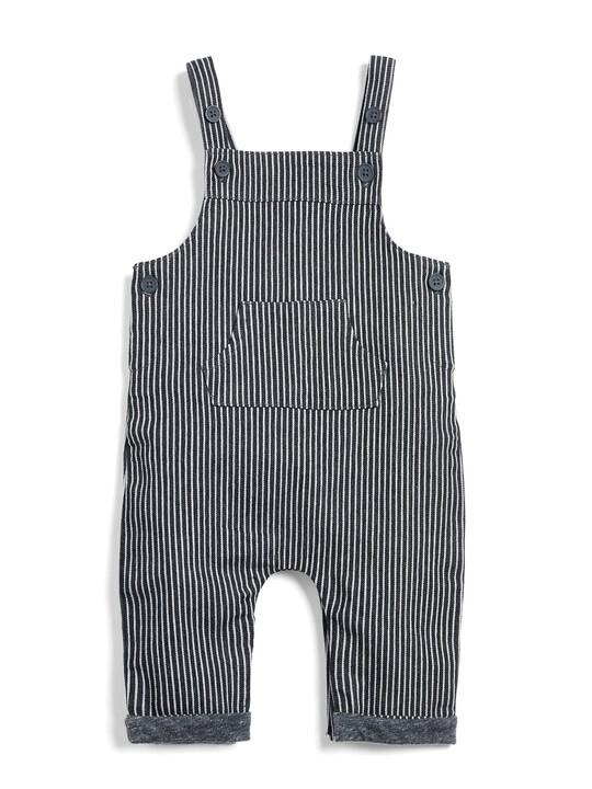 Woven Dungaree & T-Shirt Set image number 4