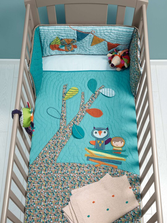 Timbuktales - Boys Cotbed Coverlet image number 3