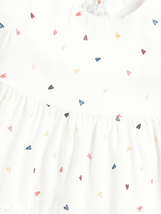 Heart Print Dress image number 3
