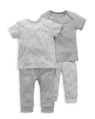 Giraffe Print Pyjamas 2 Pack