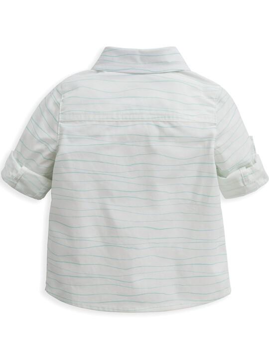 Wave Print Shirt image number 4