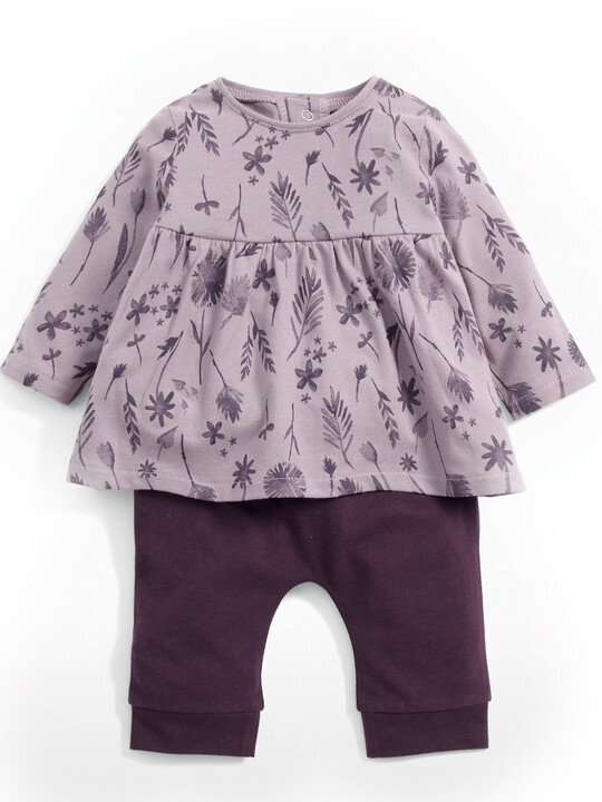 Floral Tunic & Leggings Set image number 1
