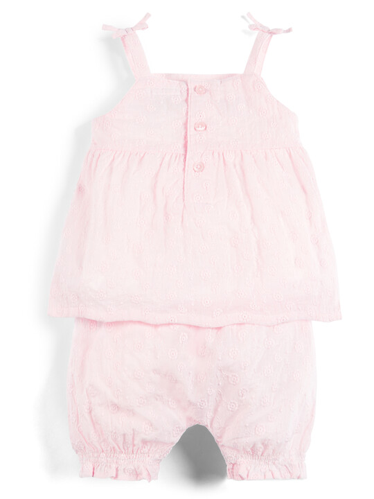 Embroidered Top and Shorts - 2 Piece Set image number 2