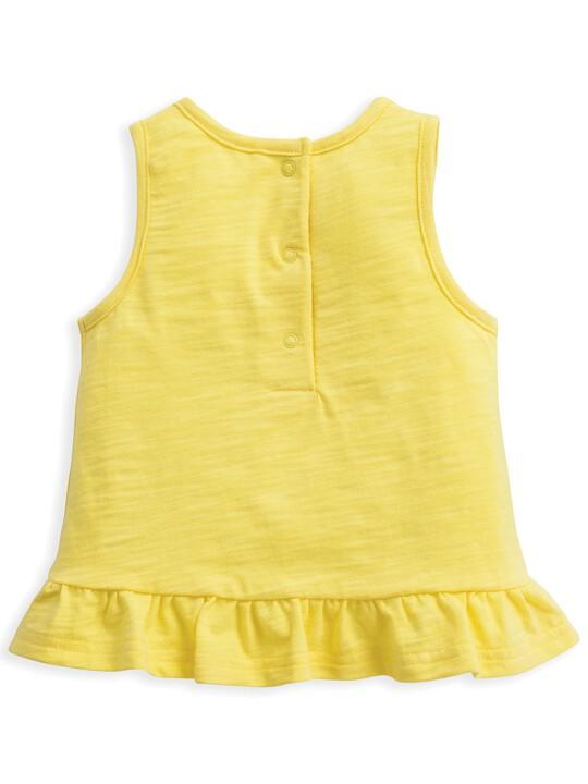 Frill Vest Lemon image number 2