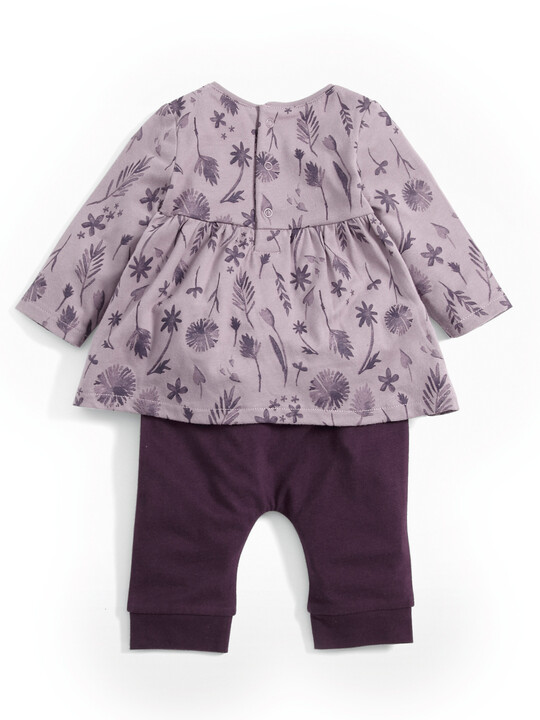 Floral Tunic & Leggings Set image number 2