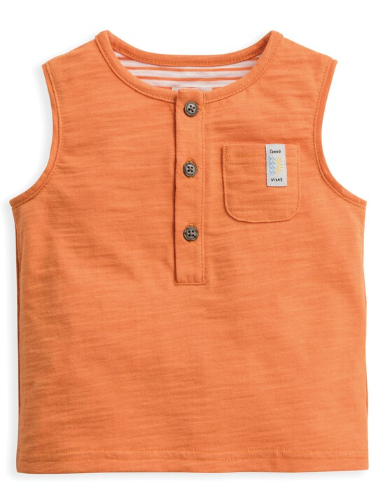 Striped Pocket Vest image number 1