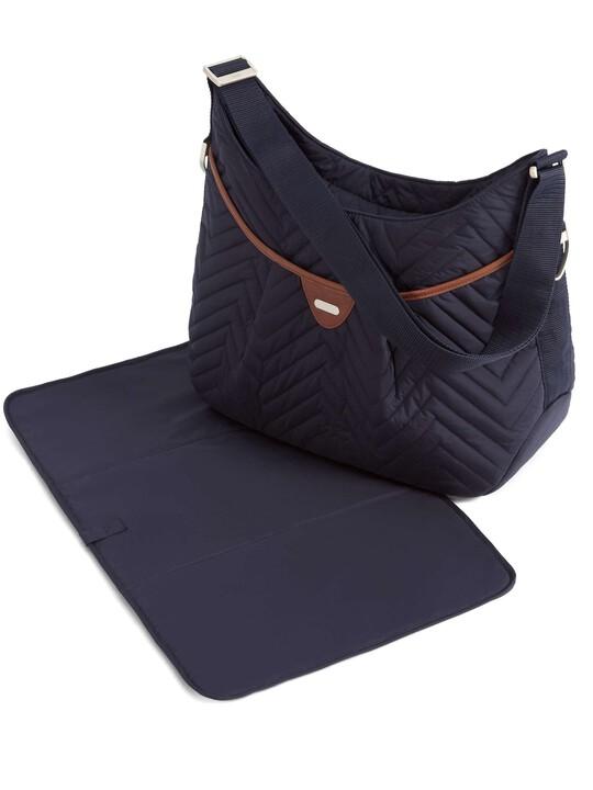 Ellis Shoulder Bag - Navy Quilt image number 2