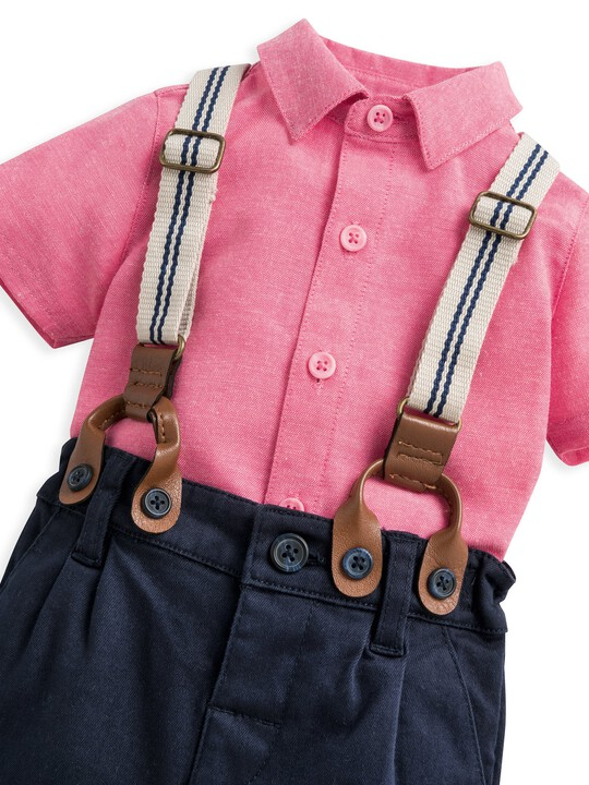 3 Piece Shirt, Shorts & Braces Set image number 5