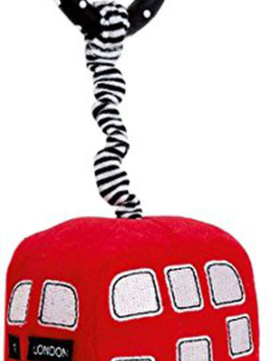 SOFT TOY - MINI RED BUS image number 1