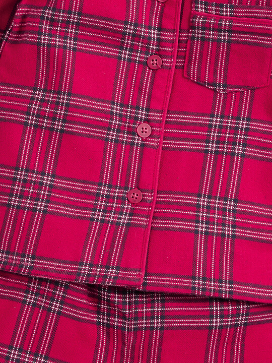 Red Check Pyjamas image number 3