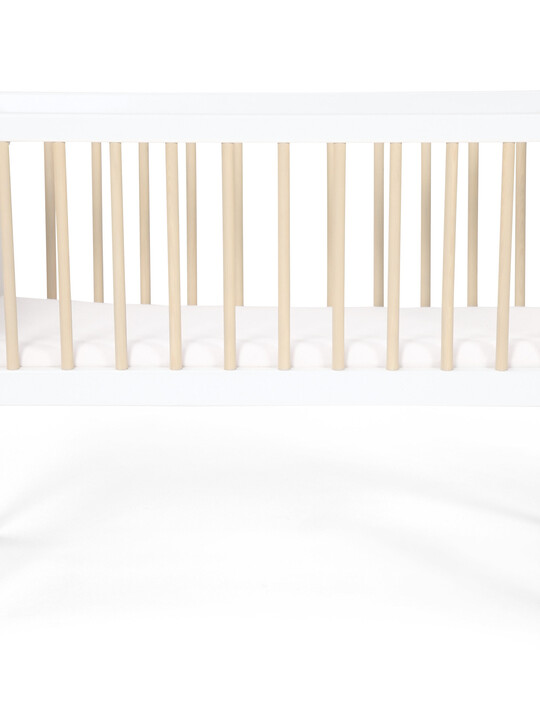 Juno Crib - Natural Oak & White image number 2