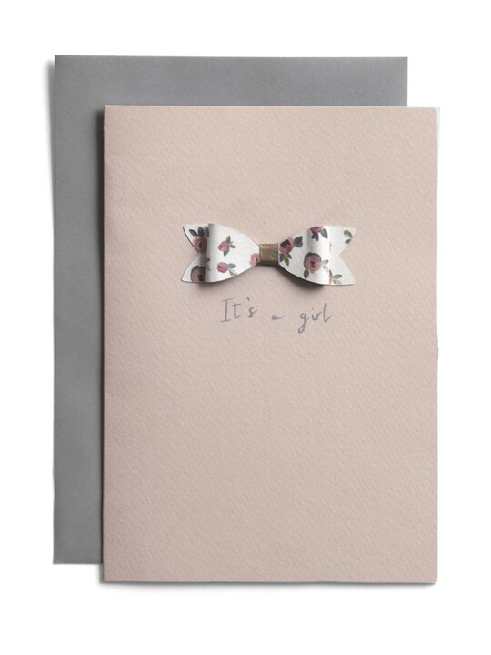 Card - It's a Girl image number 1
