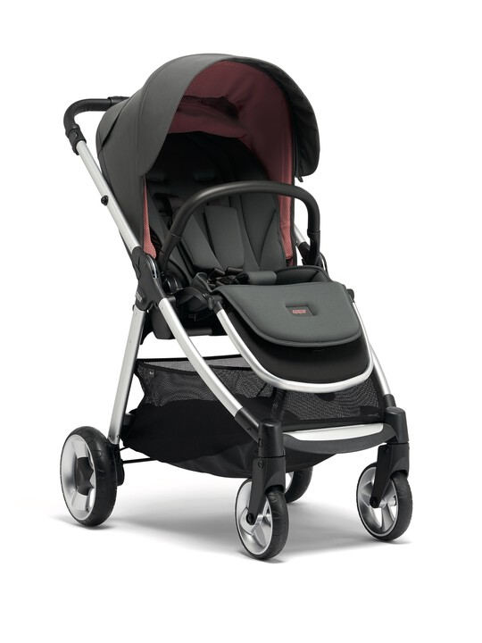Armadillo Flip XT² Signature Edition Athleisure Pushchair - Grey/Coral image number 1