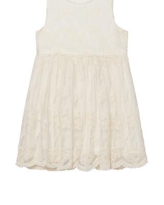 Lace Dress - Cream