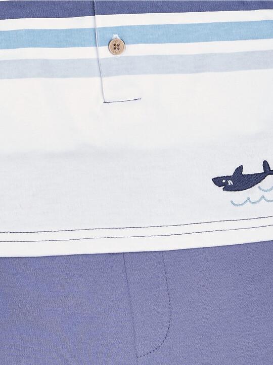 Stripe Mock Romper image number 3