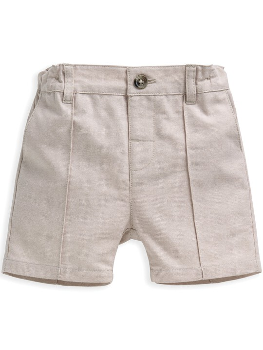4 Piece Linen Waistcoat & Shorts Set image number 5