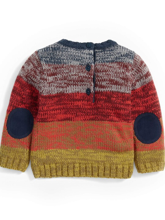 Striped Knit Jumper image number 2