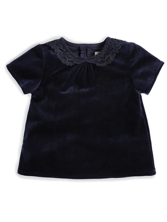 Lace Collar Blouse image number 1