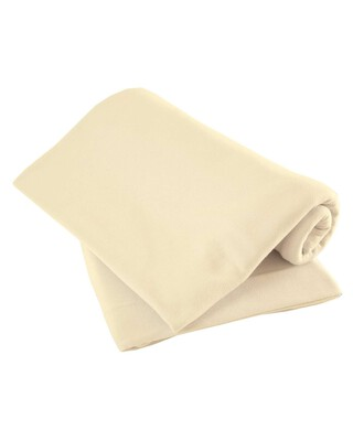 Cream Pack of Two Fitted Sheets - Moses