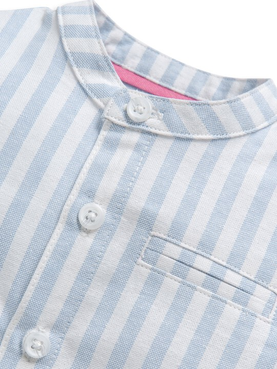 Woven Striped Shirt image number 3