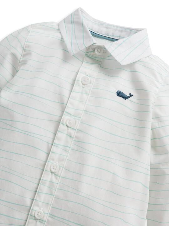 Wave Print Shirt image number 5