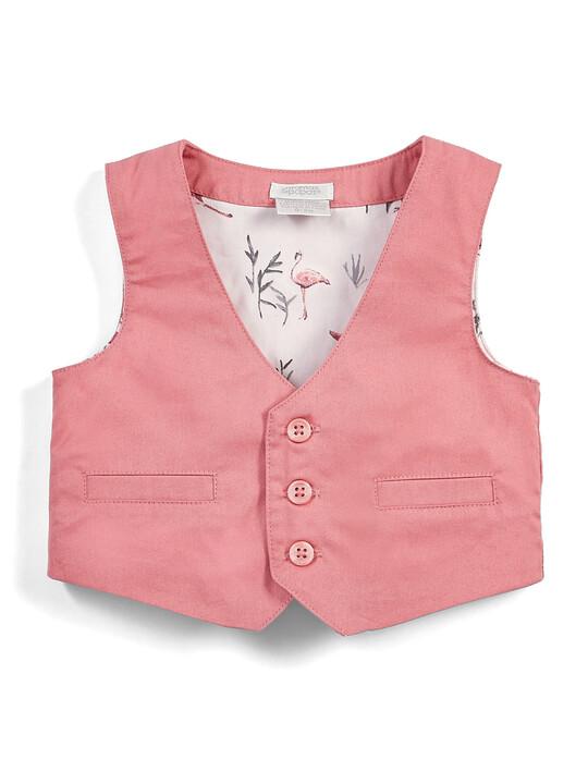 Pink Shirt & Waistcoat Set - 2 Piece image number 4