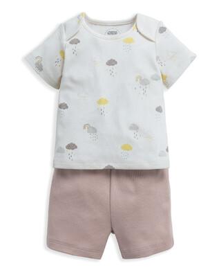 Cloud Jersey Short Pyjamas