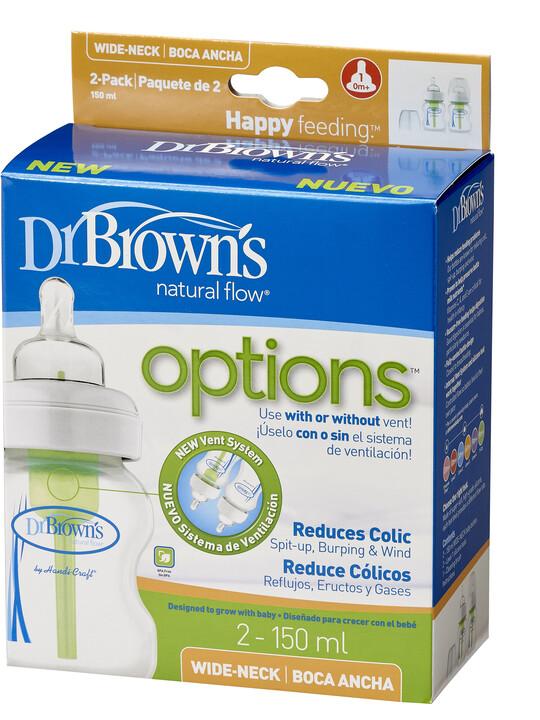 Dr Brown's Natural Flow Wide-Neck Baby Bottle - 5oz ( Pack of 2) image number 7