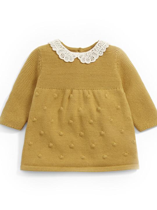 Crochet Knit Dress image number 1