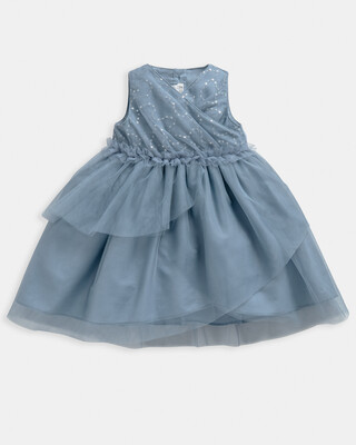 Tiered Sequin Dress