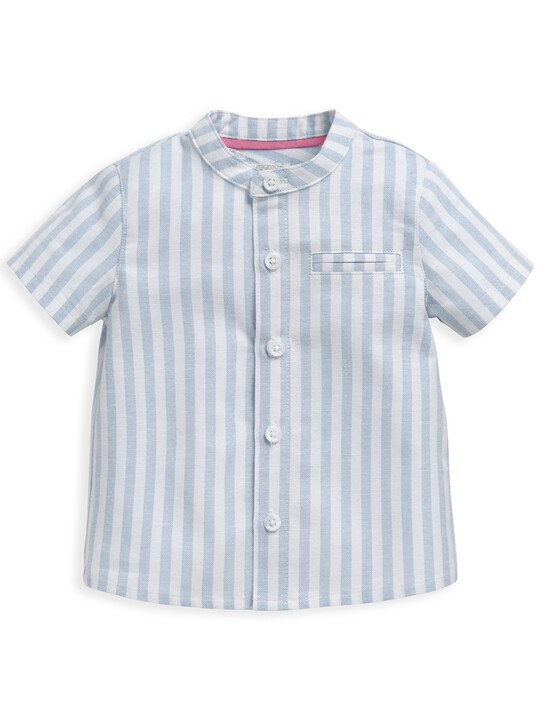Woven Striped Shirt image number 1